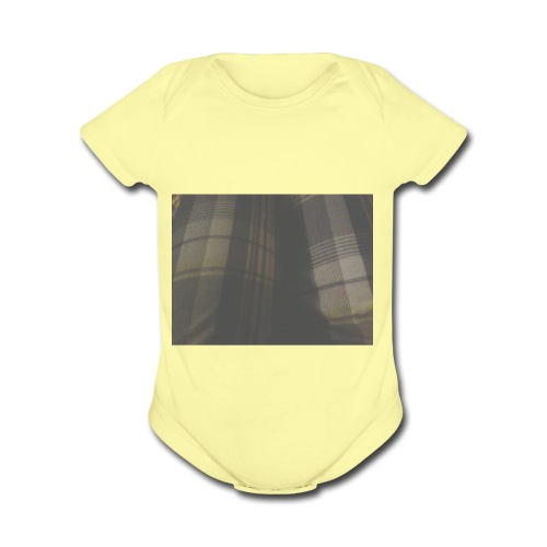 Carl the cool - Organic Short Sleeve Baby Bodysuit
