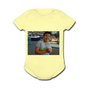 DSC00053 - Short Sleeve Baby Bodysuit