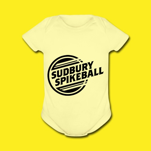 Sudbury Spikeball - Organic Short Sleeve Baby Bodysuit