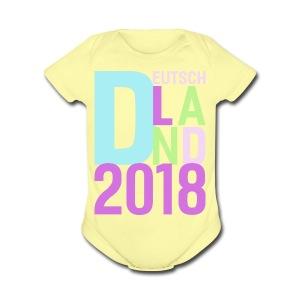 Germany Football Jersey Women 2018 - Soccer Tshirt - Short Sleeve Baby Bodysuit