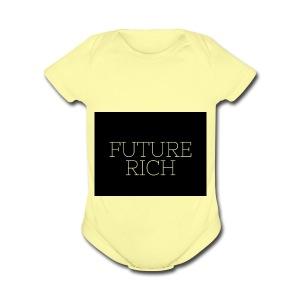Rich Ruture - Short Sleeve Baby Bodysuit