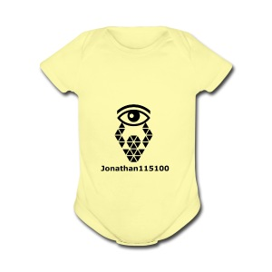 Channel Name And Logo - Short Sleeve Baby Bodysuit