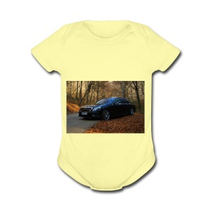 mercedes-benz s clas - Short Sleeve Baby Bodysuit