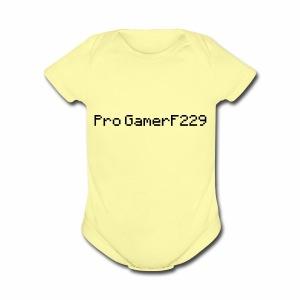 Pro GamerF229 (MC) - Short Sleeve Baby Bodysuit