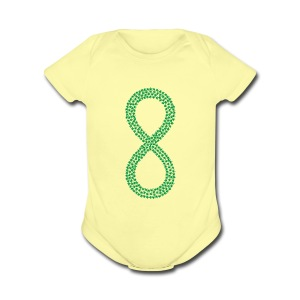 Marijuana Infinity California Love Hemp 420 Shirt - Short Sleeve Baby Bodysuit
