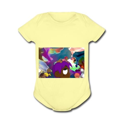 lil Uzi Vert - Organic Short Sleeve Baby Bodysuit