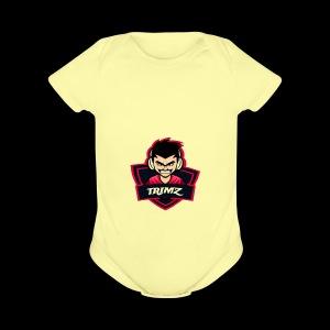 Trimz Army Trimz Logo - Short Sleeve Baby Bodysuit