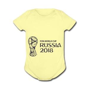 World Russia 2018 - Short Sleeve Baby Bodysuit