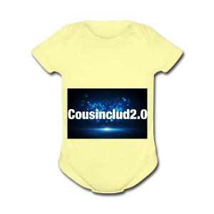 cousinclub2.0 - Short Sleeve Baby Bodysuit
