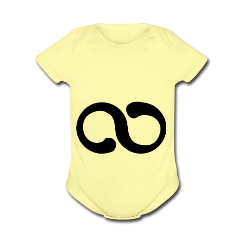 It is the symbol for my buisness - Organic Short Sleeve Baby Bodysuit