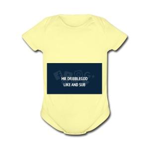 we on top - Short Sleeve Baby Bodysuit