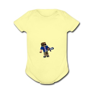895PRO - Short Sleeve Baby Bodysuit