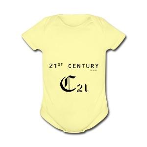 21 century - Short Sleeve Baby Bodysuit