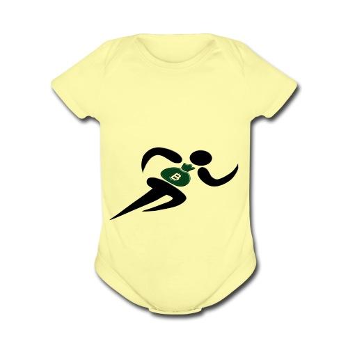 Bag Cha$er - Organic Short Sleeve Baby Bodysuit