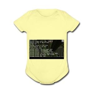 IMG 4901 - Short Sleeve Baby Bodysuit