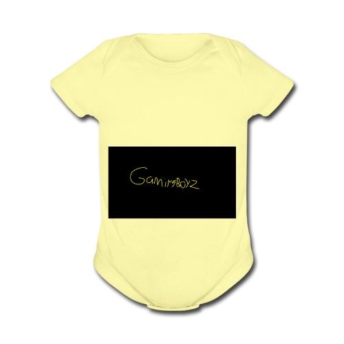 GamingBoyz - Organic Short Sleeve Baby Bodysuit