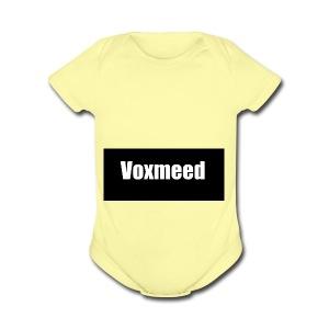 VOXMEED - Short Sleeve Baby Bodysuit