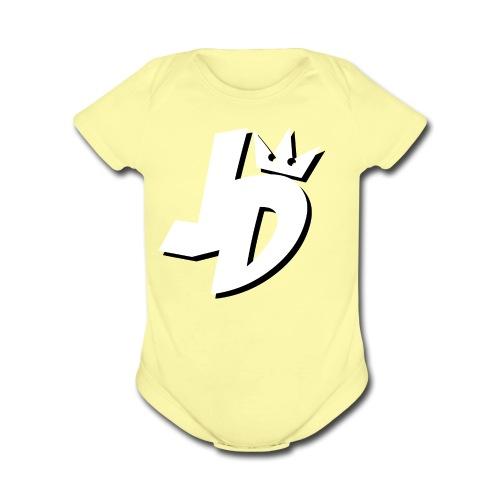 JDMerch - Organic Short Sleeve Baby Bodysuit