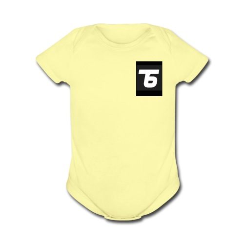 Team6 - Organic Short Sleeve Baby Bodysuit