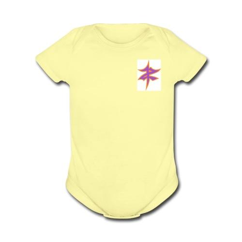 zR - Organic Short Sleeve Baby Bodysuit