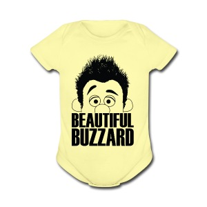Puppet Phil - Beautiful Buzzard - Short Sleeve Baby Bodysuit