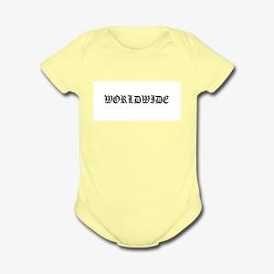 wordlwide - Short Sleeve Baby Bodysuit