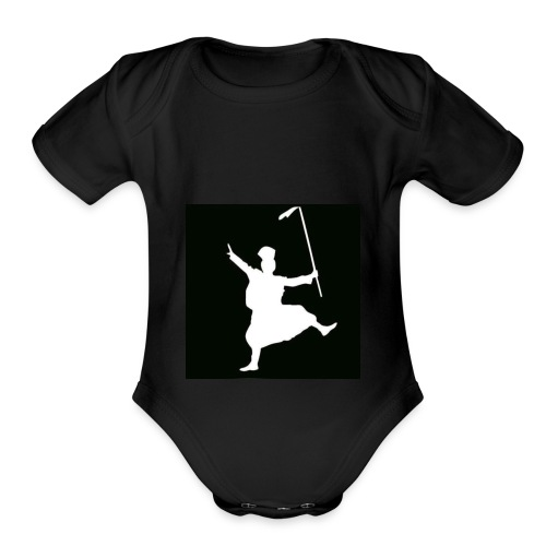 Bhangra ON! - Organic Short Sleeve Baby Bodysuit