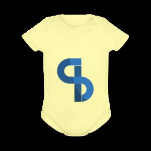 Santian Logo - Short Sleeve Baby Bodysuit