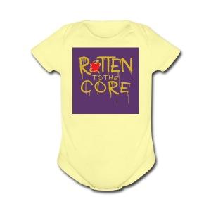 Core - Short Sleeve Baby Bodysuit