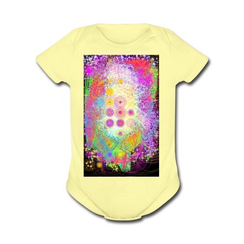 trippy - Organic Short Sleeve Baby Bodysuit