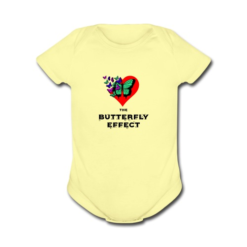 The Butterfly Effect ~ OTG - Organic Short Sleeve Baby Bodysuit