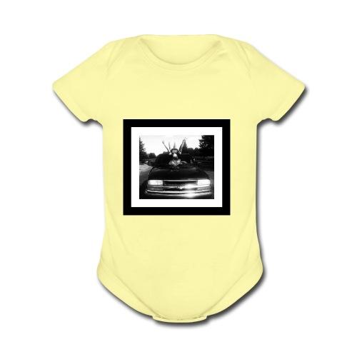 Country Life - Organic Short Sleeve Baby Bodysuit