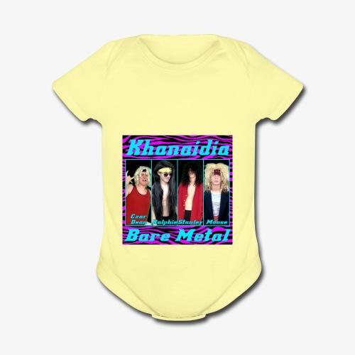 Bare Metal - Organic Short Sleeve Baby Bodysuit
