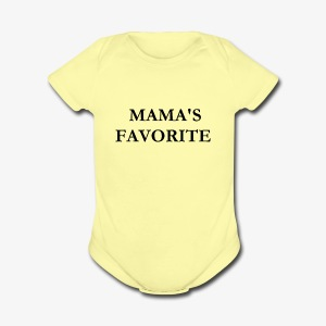 MAMAS FAVORITE - Short Sleeve Baby Bodysuit