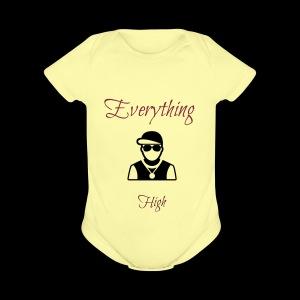 Everything High - Short Sleeve Baby Bodysuit