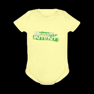 Splatter CFI Logo Trans - Short Sleeve Baby Bodysuit