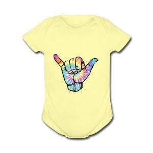 Hang Loose - Short Sleeve Baby Bodysuit