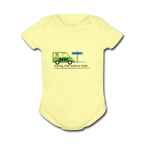 Going the extra mile - Organic Short Sleeve Baby Bodysuit