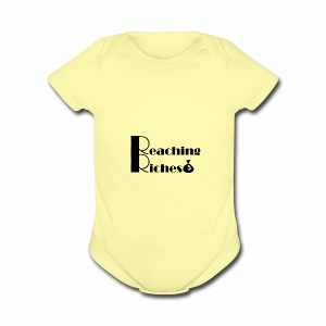 Reaching Riches - Short Sleeve Baby Bodysuit