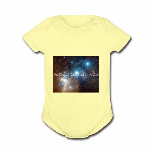 Orion Belt gaming 199 - Organic Short Sleeve Baby Bodysuit
