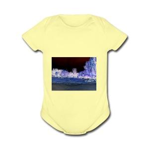 Mirage - Short Sleeve Baby Bodysuit