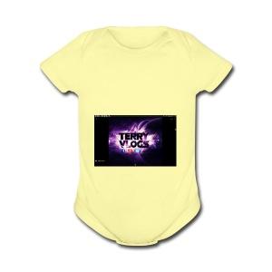 You gotta want it - Short Sleeve Baby Bodysuit