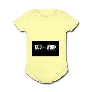 God working - Short Sleeve Baby Bodysuit