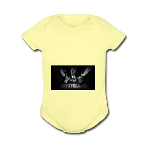 IMG 0075 - Organic Short Sleeve Baby Bodysuit