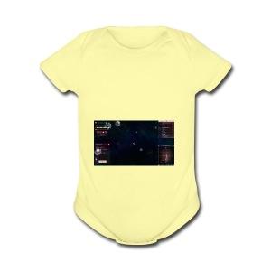 first peice of merch - Short Sleeve Baby Bodysuit