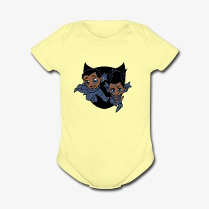ReckLess Youngster Superhero - Short Sleeve Baby Bodysuit