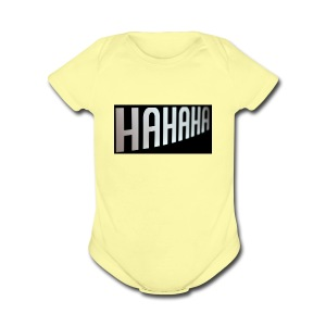 mecrh - Short Sleeve Baby Bodysuit