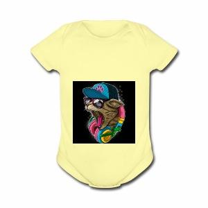 B84BFBE5 D095 47AF 8BEC F5E583CCC390 - Short Sleeve Baby Bodysuit