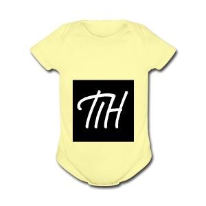 Logo for merch - Short Sleeve Baby Bodysuit