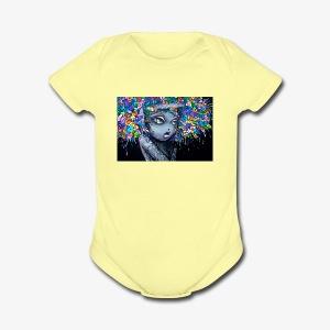 10000 - Short Sleeve Baby Bodysuit